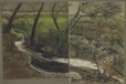 1992.14.3 | Landscape with Trees and Brook | Drawing | Camille Roche |  |