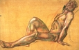 1992.14.7 | Male Nude | Drawing | Camille Roche |  |