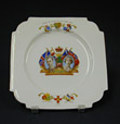 1992.2.64 | King George VI Coronation | Plate | John Aynsley & Sons Limited |  |