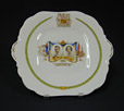 1992.2.90 | Visite royale | Assiette | John Aynsley & Sons Limited |  |