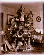 2003.33.10 | Christmas Tree in the Parlour, Belyea Homestead, Cambridge, Queens County, New Brunswick | Photograph | Harry Bulyea, Canadian, born 1873 |  |
