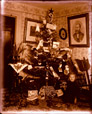 2003.33.11 | Evelyn Smith Thorne and Christmas Tree in the Parlour, Belyea Homestead, Cambridge, Queens County, New Brunswick | Photograph | Harry Bulyea, Canadian, born 1873 |  |