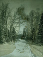 2003.33.31 | Road in Winter near Belyea Homestead, Cambridge, Queens County, New Brunswick | Photograph | Harry Bulyea, Canadian, born 1873 |  |