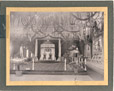 26723   Thrones for the Duke and Duchess of York in the Exhibition Building, Saint John, New Brunswick   Photograph   Harry F. Albright     