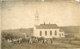 32547.1 | Aboriginal Group at the Chapel, French Village, New Brunswick | Photograph | George Thomas Taylor |  |