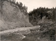 4168.11 | Logs in a Gorge, Lumbering in New Brunswick | Photograph | Isaac Erb & Son |  |