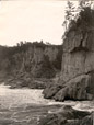 4168.13 | Logs in a Gorge, Lumbering in New Brunswick | Photograph | Isaac Erb & Son |  |