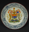 A52.24 | Dominion of Canada Coat of Arms Adopted, 1922 | Plate | Josiah Wedgwood |  |