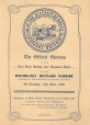 1909-2 | The Official Opening of the new steel bridge over Seymour | Leaflet | Expree Print |  |
