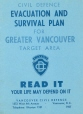 1957-2 | Civil Defence Evacuation and Survival plan for Greater Vancouver Target Area | Leaflet | Vancouver Civil Defence |  |