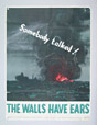 20031000087 | The Walls Have Ears | Poster | Walls Have Ears organization, Ottawa |  |