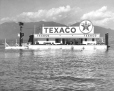 27-3838 | Texaco Oil Company fuelling barge in Coal Harbour | Photograph |  |  |