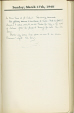 P646_A.03 | Journal of Lawrence P. Byrne, 1940 | Diary | Lawrence P. Byrne |  |