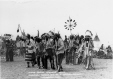 19750101008 | Blood Indian pow-wow dance | Photograph | Arthur Rafton-Canning |  |