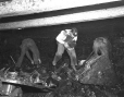19752400087 | Miners picking up coal by hand in the mine at Shaughnessy | Photograph | The Lethbridge Herald |  |