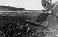 19752400099   Strip mining in the Taber district   Photograph   The Lethbridge Herald     