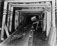 19752400107   Mining operations in Galt Mine No. 8   Photograph   The Lethbridge Herald     