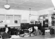 19880142033   Canadian Pacific Railway telegraph office in Lethbridge   Photograph   Anonyme - Anonymous     