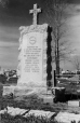 19891049124   Memorial and grave stones for the men killed in the Coalhurst Mine explosion on 8 December 1935   Photograph   Anonyme - Anonymous     