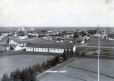19891049263 | Looking over the east side of the Royal North West Mounted Police barracks in Lethbridge | Photograph | Arthur Rafton-Canning |  |