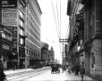 VIEW-15468 | Corner St. Catherine and Stanley Streets, looking east, Montreal, QC, 1915 | Photograph | Wm. Notman &amp; Son |  | 