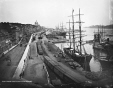 VIEW-1332 | View of the harbour, looking east, Montreal, QC, 1884 | Photograph | Wm. Notman &amp; Son |  | 