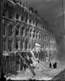 VIEW-1593 | Building after a fire, east of Place d'Armes, Montreal, QC, 1888 | Photograph | Wm. Notman & Son |  |