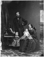 I-0.293 | John Spence and family, Montreal, QC, 1861 | Photograph | William Notman (1826-1891) |  |