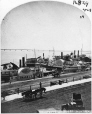 I-16829.1 | Steamboat wharf, Montreal, QC, 1865 | Photograph | William Notman (1826-1891) |  |