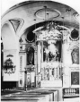 I-76350.1 | Altar of the Blessed Virgin, French Cathedral?, Quebec City, QC, 1872 | Photograph | William Notman (1826-1891) |  |