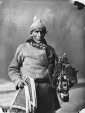 I-20033 | Aboriginal person with objects to sell, Montreal, QC, 1866 | Photograph | William Notman (1826-1891) |  |