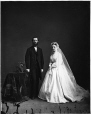 I-21151 | Mr. and Mrs. Clinton DeWitt, Montreal, QC, 1866 | Photograph | William Notman (1826-1891) |  |