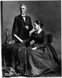I-28149 | Jefferson Davis and wife, Montreal, QC, 1867 | Photograph | William Notman (1826-1891) |  |