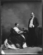 I-28408 | Hon. John Young and Lady, Montreal, QC, 1867 | Photograph | William Notman (1826-1891) |  |