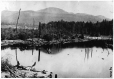 I-29002.1 | Vue du mont Orford depuis le chenal, lac Memphrémagog, QC, 1867 | Photographie | William Notman (1826-1891) |  |