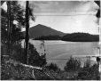 I-29025.1 | Vue d'Owl's Head depuis « Belmere », lac Memphrémagog, QC, 1867 | Photographie | William Notman (1826-1891) |  |