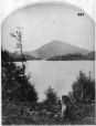 I-29027.1 | Vue d'Owl's Head depuis « Belmere », lac Memphrémagog, QC, 1867 | Photographie | William Notman (1826-1891) |  |