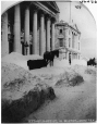 I-36256.1 | St. James Street in winter, Montreal, QC, 1868-69 | Photograph | William Notman (1826-1891) |  |