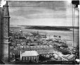 I-8413 | Harbour from Notre-Dame Church, looking east, Montreal, QC, 1863 | Photograph | William Notman (1826-1891) |  |