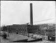 II-106800 | Centrale électrique, Montreal Street Railway, rue William, Montréal, QC, 1894 | Photographie | Wm. Notman & Son |  |
