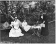 II-111790 | Tea in the garden, Mrs. McKay's group, Montreal, QC, 1895 | Photograph | Wm. Notman & Son |  |