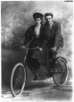 II-115992.1 | W. K. Masterman and lady on tandem bicycle, Montreal, QC, 1896 | Photograph | Wm. Notman & Son |  |