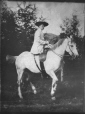 II-168256.0 | Woman on horse, copied for D. Oliver in 1908 | Photograph | Anonyme - Anonymous |  |