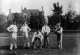 II-169624.0 | Lawn bowling group, copied for Mr. H. L. McDougall in 1908 | Photograph | Anonyme - Anonymous |  |