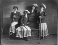 "II-172609 | ""Bonnie Lassies"" group, Montreal, QC, 1909 