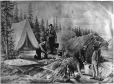 II-20021.1 | Photographie composite sur le thème du camping, 1875 | Photographie | William Notman (1826-1891) |  |