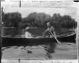 II-222292.0 | Russell Notman & friend in canoe, copied in 1917 | Photograph | Anonyme - Anonymous |  |