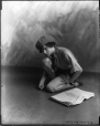 "II-253919 | Miss Finney as ""The Newsboy"", Montreal, QC, 1923 