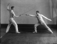 II-263752 | Fencers, McGill boxing, wrestling and fencing club, Montreal, 1925 | Photograph | Wm. Notman & Son |  |