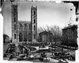 II-41752 | Place d'Armes and Notre Dame Church, Montreal, QC, 1876 | Photograph | Notman & Sandham |  |